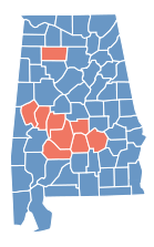 Results of the United States presidential election in Alabama, 1876 Samuel J. Tilden (D) Rutherford B. Hayes (R)