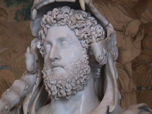 Bust of Roman emperor Commodus (31 August 161–...