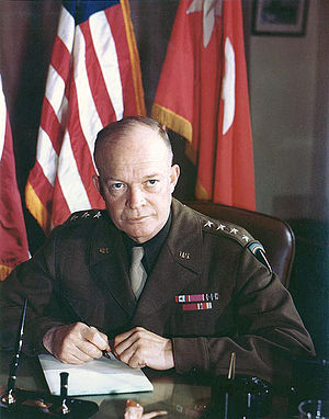 General of the Army Dwight David Eisenhower when a 4-star General