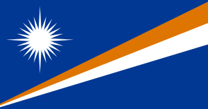 National flag of Marshall Islands