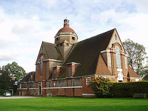 Free Church, Hampstead Garden Suburb, by Edwin Lutyens