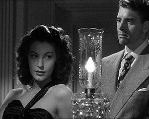 English: Screenshot of Ava Gardner and Burt La...