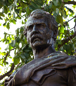 Statue of missionary and explorer David Livingstone