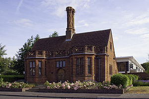 Edwin Lutyens Brickyard office designed for the Daneshill Brick Co.