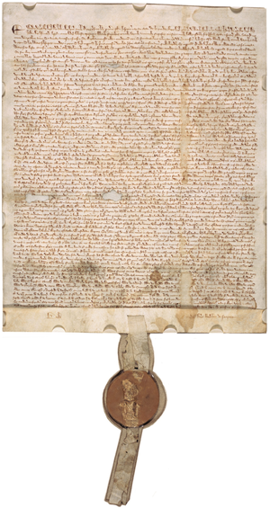 English: Magna Carta from 1297
