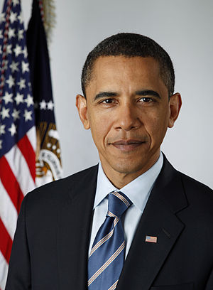 Official photographic portrait of US President Barack Obama