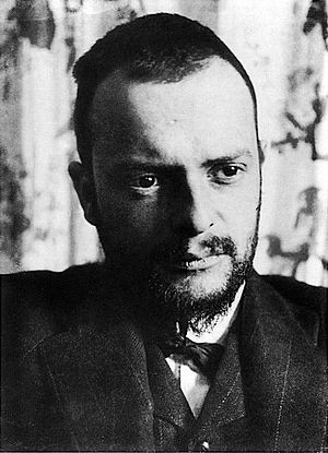 Paul Klee, photographed in 1911 by Alexander E...
