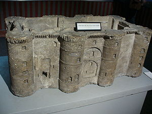 A model of the Bastille made by Pierre-Françoi...