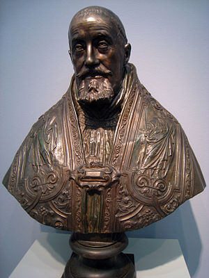 Pope Gregory XV, by Gian Lorenzo Bernini, c. 1...