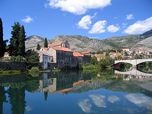 English: Trebinje, a little town in Herzegovin...