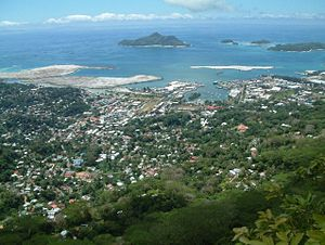 Victoria, capital of the Seychelles