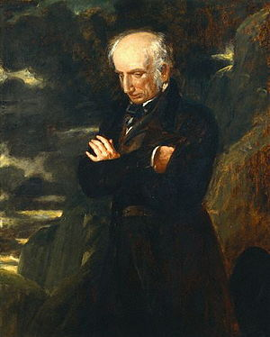 William Wordsworth by Benjamin Robert Haydon oil on canvas, 1842