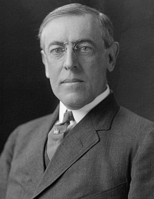 Woodrow Wilson - 28th President of United States of America