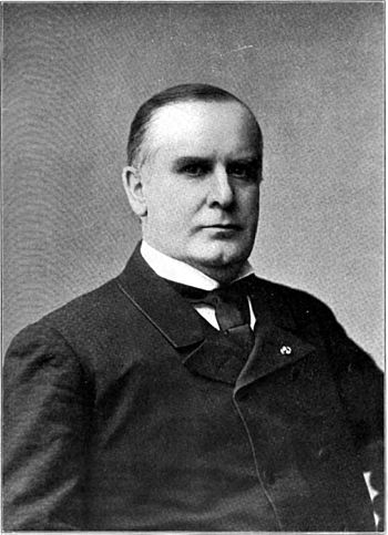 Portrait photograph of president of the United States William McKinley