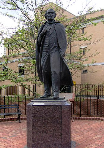 Statue of President Andrew Johnson