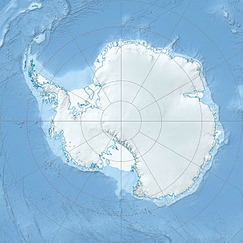 Physical Location map Antarctic