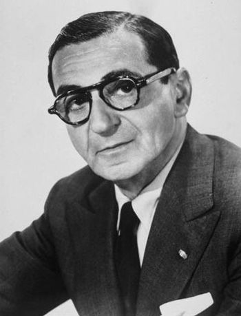Portrait of Irving Berlin | www.go4quiz.com