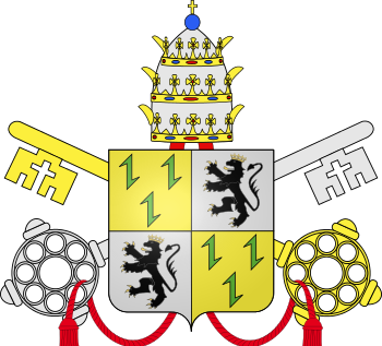 Pope Adrian VI's Coat of Arms