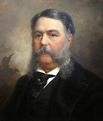 Portrait of Chester A. Arthur