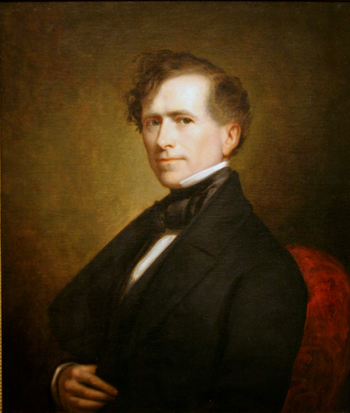 Franklin Pierce - 14th President of USA.