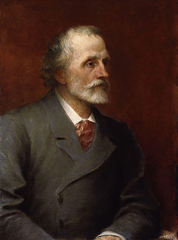 George Meredith, by George Frederic Watts