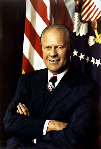 Gerald Ford - 38th President of USA - Official Presidential photo.