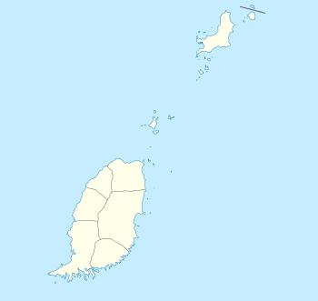 Location map of Grenada Geographic limits of t...