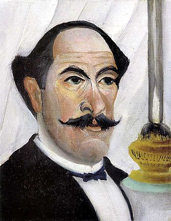 Self-portrait of Henri Rousseau