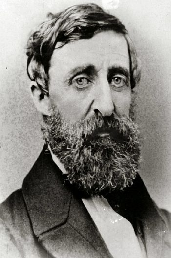 Henry David Thoreau, in 1861.