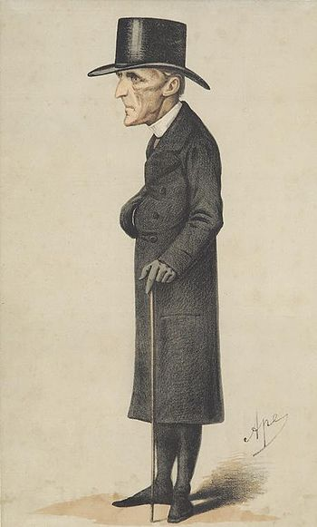 Caricature of Archbishop Manning.