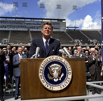 President John F. Kennedy   - 35th President of USA