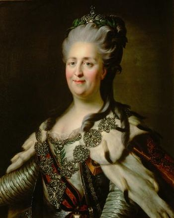 Catherine the Great - the most famous Russian Empress