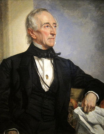 Portrait of John Tyler - Tenth President of US of A
