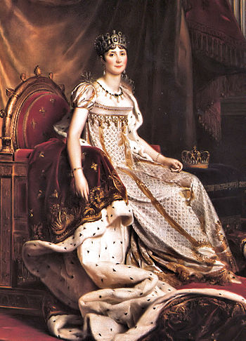 Portrait of the Empress Joséphine