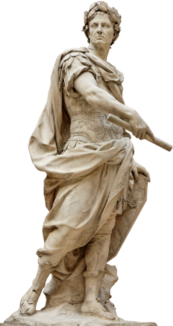 Sculpture of Julius Caesar