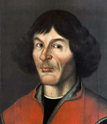 Nicolaus Copernicus portrait from Town Hall in...