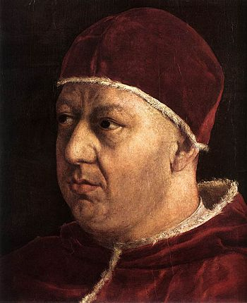 Portrait of Pope Leo X.