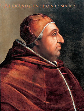 Portrait of Pope Alexander VI