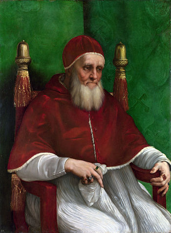 Portrait of Pope Julius II by Raphael
