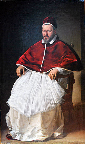Portrait of Pope Paulus (Camillo Borghese).