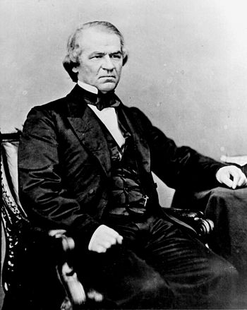 Andrew Johnson - 17th President of the United States of  America