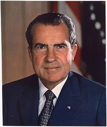Richard Milhous Nixon, 37th President of the United States of America