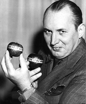 "Robert Ripley, the creator of ""Believe it or Not""."