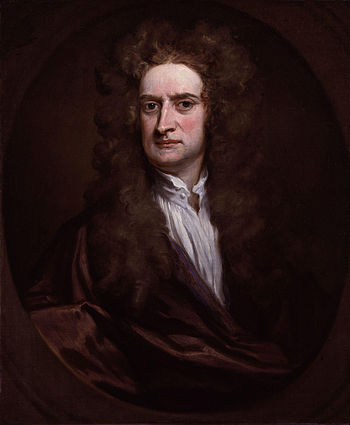 Sir Isaac Newton, by Sir Godfrey Kneller