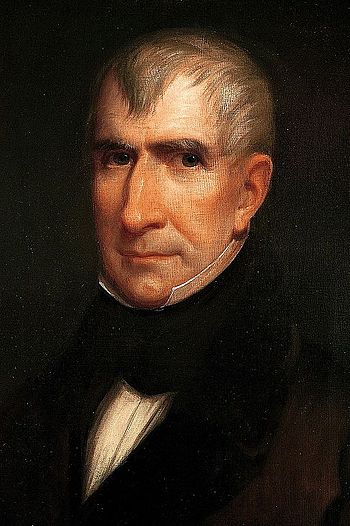 William Henry Harrison, the ninth President of the United States.