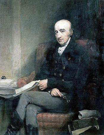 Painting of William Hyde Wollaston