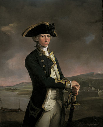 Lord Nelson in a Captain's tailcoat (1781)