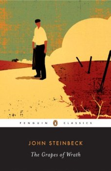 "Cover of ""The Grapes of Wrath"