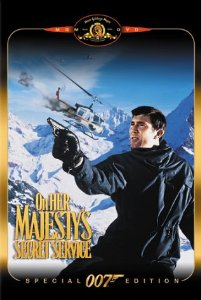"""Cover of """"On Her Majesty's Secret Service..."""