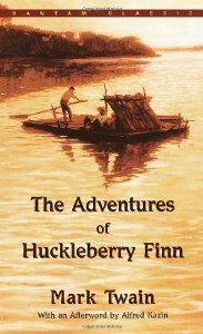 "Cover of ""The Adventures of Huckleberry Finn"""